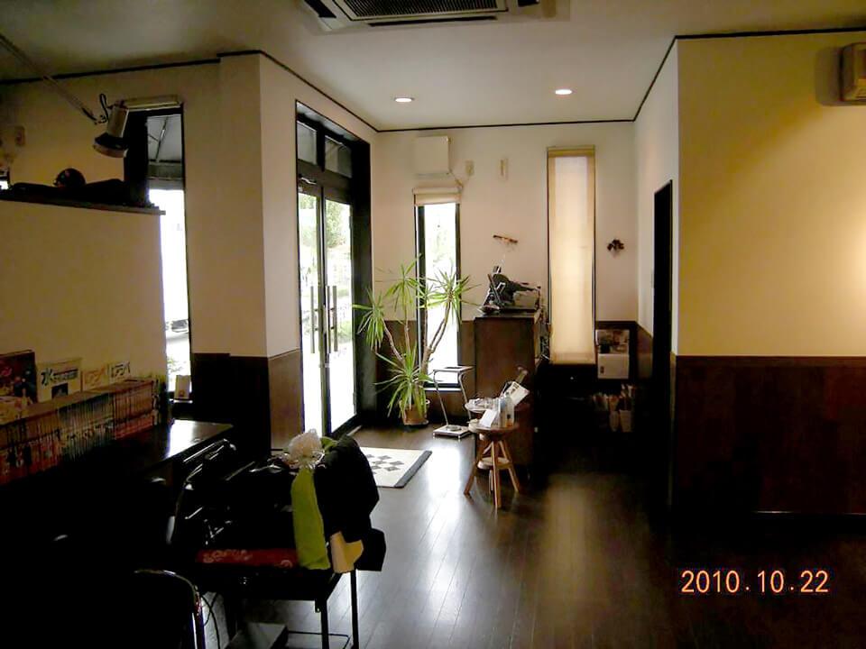 店舗型コンテナハウス(美容室) 内観