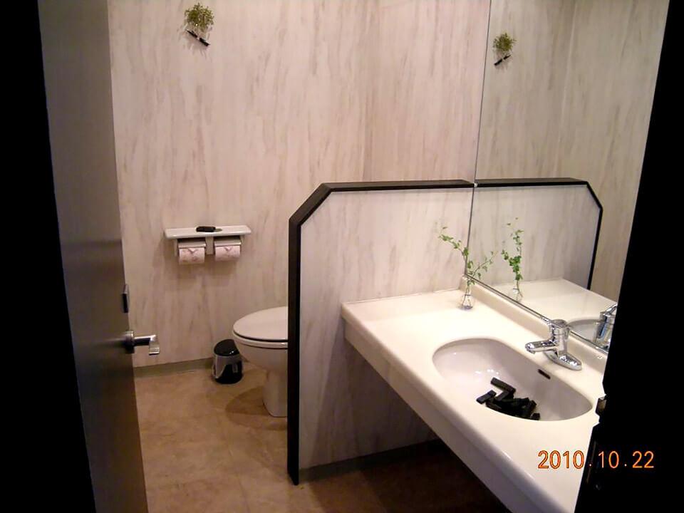 店舗型コンテナハウス(美容室) トイレ