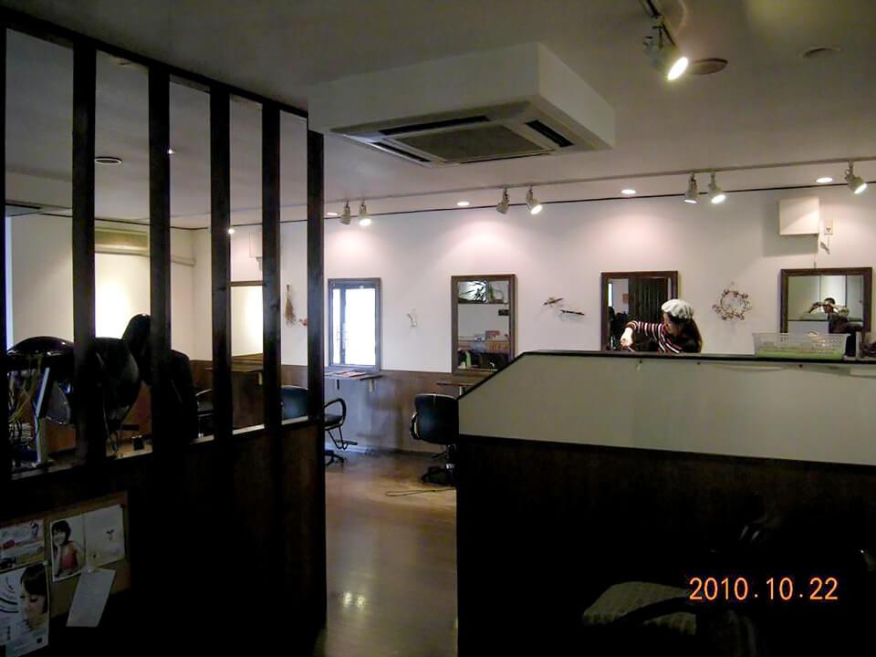 店舗型コンテナハウス(美容室) 内観2