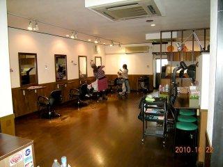 店舗型コンテナハウス(美容室) 内観3
