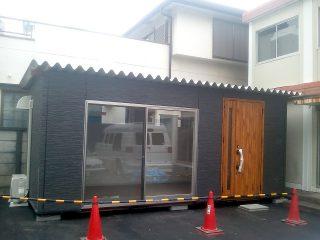 コンテナ事務所(自動車会社)