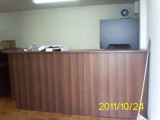 コンテナオフィス(2階建て) オフィス受付
