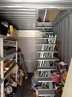 事務所兼倉庫型コンテナハウス2階建て 内観