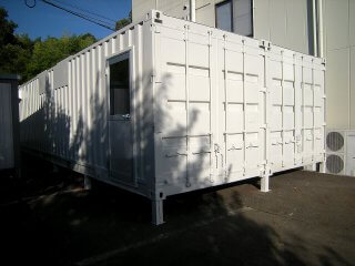 書類保管庫としてのコンテナ倉庫