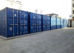 書類保管庫としてのコンテナ倉庫(物置き)