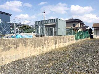 倉庫・物置きとしてのコンテナハウス