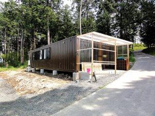40フィートコンテナ2連結で作成したコンテナハウスを幼稚園として利用