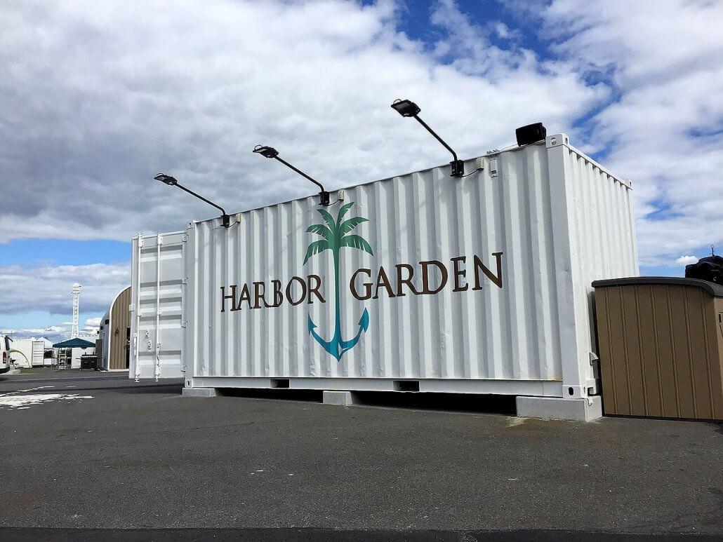 ハーバーガーデンのコンテナ倉庫2