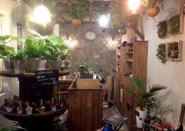 愛知県名古屋市の店舗型コンテナハウス(お花屋さん)の内観