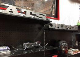 20フィートコンテナを使ったバイクガレージ ATS, Japan