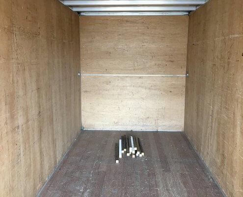 販売商品 トラック箱内部