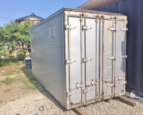 販売商品トラック箱
