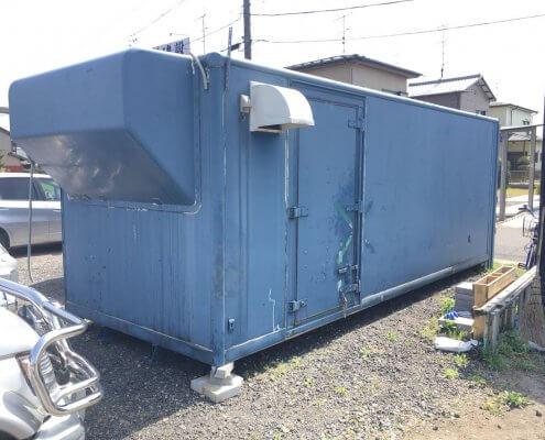 トラック箱D5800 換気扇、電気配線、スイッチ付き 外観2