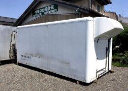 中古トラック箱D4500正面