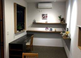 株式会社壁工望様(愛知県豊明市)店舗型コンテナハウス 中の様子