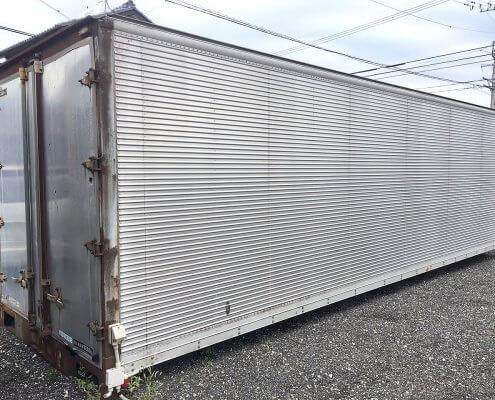 トラック箱L7800 電気配線付き・器具付き 全体