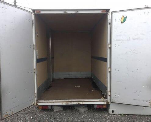 小型トラック箱L5100 内部