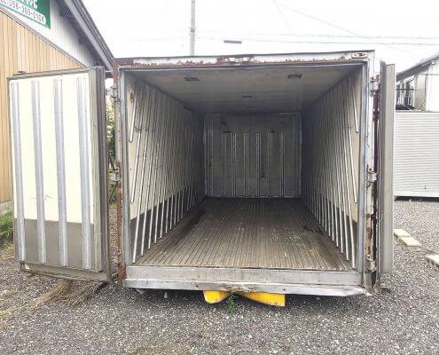 トラック箱L3200 内部の様子
