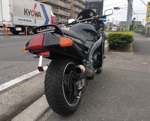 Kawasaki(カワサキ) ZZR1100 背面