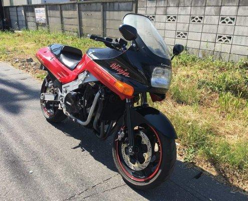 Kawasaki(カワサキ) ZX-10 前面