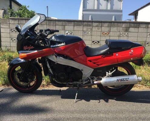 Kawasaki(カワサキ) ZX-10 マフラー側