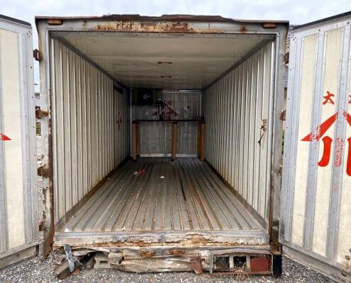 アルミトラック箱②内観