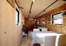 Steel × Wood 鉄と木が織りなす快適なコンパクトオフィス 内観