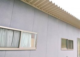 自宅敷地内に資材用の木造ハウス作成 外観3