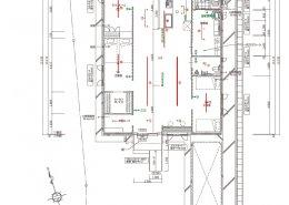 コンテナハウス仕様図 住居:照明・スイッチ