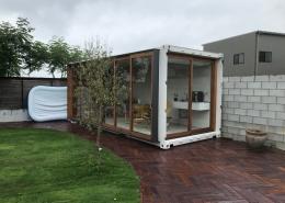 自宅庭に自分だけのくつろぎスペースを、コンテナハウスで。