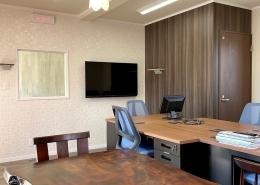 コンテナハウスでFM放送局スタジオを施工・設置(長野県塩尻市)スタジオ側