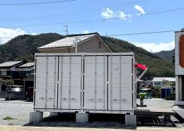 コンテナハウスでFM放送局スタジオを施工・設置(長野県塩尻市)